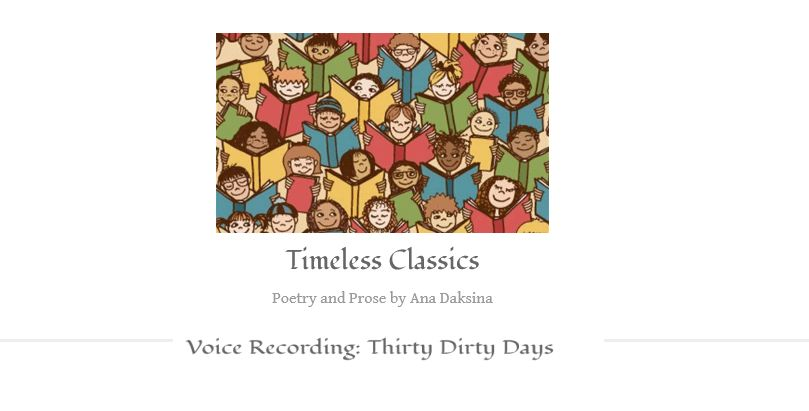 Voice Recording: Thirty Dirty Days